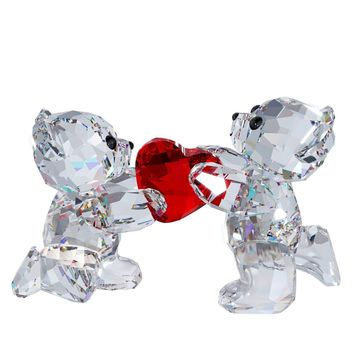 Swarovski Crystal Figurine KRIS BEAR- MY HEART IS YOURS Valentine's Day - 1143463