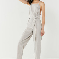 Six Crisp Days Zinnia Striped Jumpsuit | Urban Outfitters