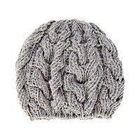 Sole Society Cable Knit Beret