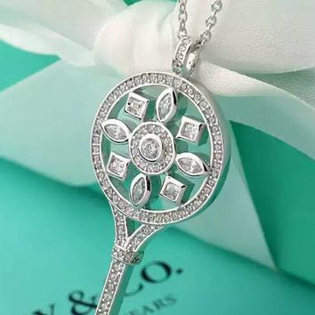 Tiffany & Co. Kaleidoscope Diamond Key Necklace