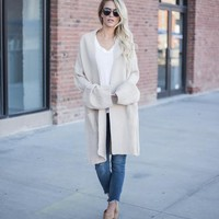 Brie Pocketed Knit Cardigan