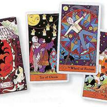 Halloween Tarot by  West & Kipling