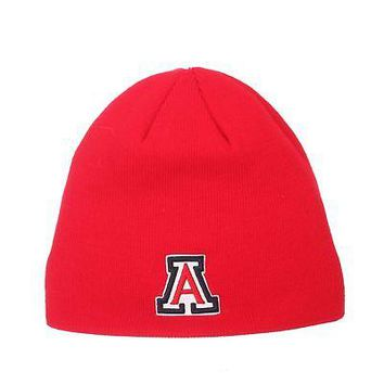 Licensed Arizona Wildcats Official NCAA Edge Adjustable Beanie Knit Sock Hat by Zephyr KO_19_1