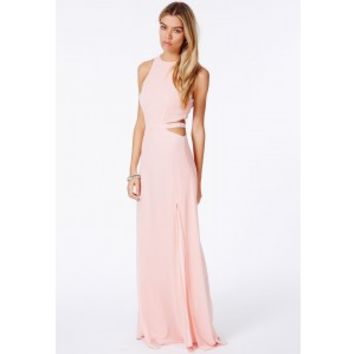 a9442391fd52 Missguided - Anthea Cut Out Split Maxi from MISSGUIDED