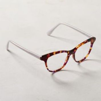 High Brow Reading Glasses by Anthropologie in Brown Motif Size: