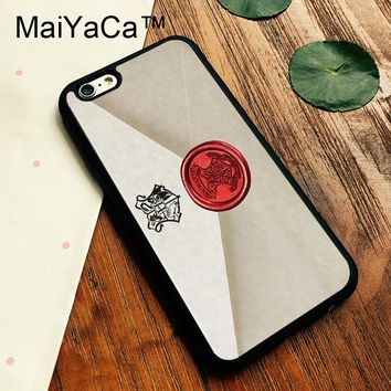 Hogwarts Letter Harry Potter cell phone case