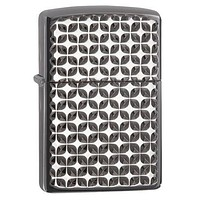 Zippo Armor Dimension Brite Cut Black Ice Lighter