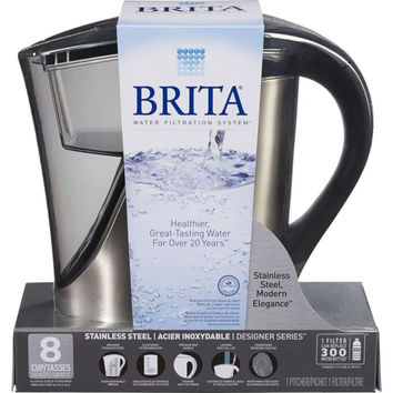 8 Cup Stainless Steel Pitcher