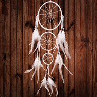 Innovative Ring Home Accessory Feather Dream Catcher [9613388367]