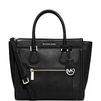MICHAEL Michael Kors Collette Zip Large Convertible Satchel