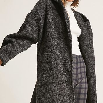 Hooded Marled Coat