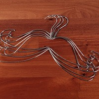 Mustache Wire Clothes Hangers (By GAMAGO)