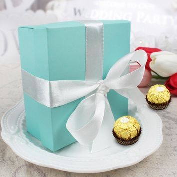pcs  Candy  Wedding  Favor  Sweets  Chocolates  Turquo