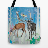 Glade Tote Bag by Mat Miller