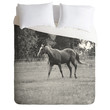 Allyson Johnson Out In The Pasture Duvet Cover