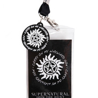 Supernatural Kansas Carry On Wayward Son Lanyard