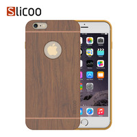 Slicoo Nature Series Bamboo Wood Slim Covering Case for iPhone 6 Plus 5.5 inch