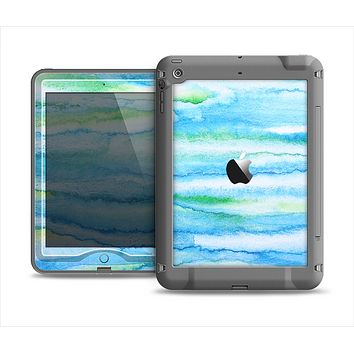 The Abstract Oil Painting Lines Apple iPad Air LifeProof Nuud Case Skin Set