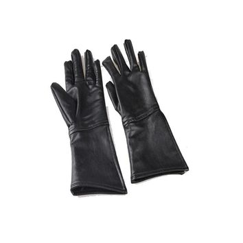 Game of Thrones Jon Snow Cosplay Accessories Gloves Cos  One Size Black
