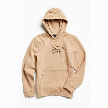 Stussy Casual Drawstring Top Sweater Hoodie Sweatshirt