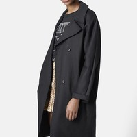 Women's Topshop Heavy Duster Coat,