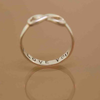 Infinity Hand Stamped by TeriLeeJewelry on Etsy