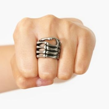 Skeleton Grip Ring