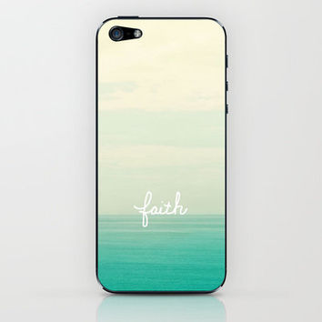 faith iPhone & iPod Skin by Lisa Argyropoulos | Society6