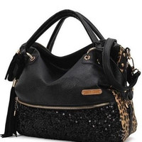 Women Hobo Satchel Fashion Tote Messenger Faux Leather Purse Shoulder Handbag HB [7976988231]