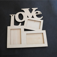Love Wooden Photo Frame [8361481415]