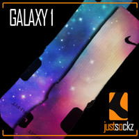 Custom Nike Elite Socks : Galaxy 1