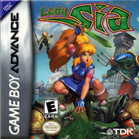 Lady Sia - GameBoy Advance (Ugly Game Only)