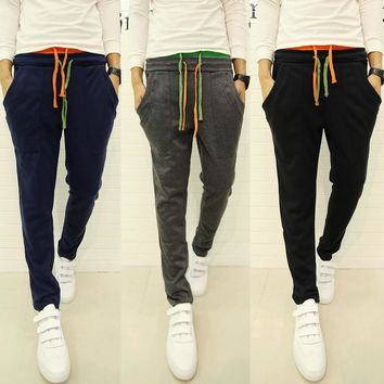 Korean Pants Sportswear Skinny Pants [6533776711]