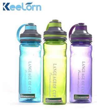 Creative 3 color my portable space water bottles