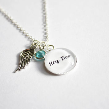 To Kill a Mockingbird quote necklace. Harper Lee. Atticus Finch. Scout. Jem. Boo Radley. Tom Robinson. Literature. Personalized