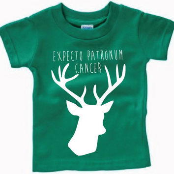 Infant Clothing - Expecto Patronum Cancer Stag T-Shirt - Children (6 - 18 Months)
