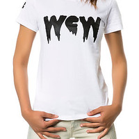 The WCW Tee in White