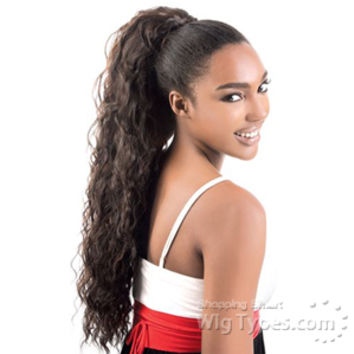 Freetress Equal Drawstring Ponytail - FEATHER GIRL