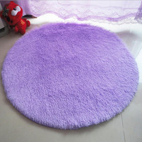 Super Soft Solid Floor Rug
