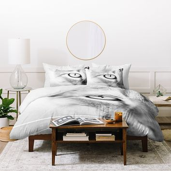Bree Madden Cats Eye Duvet Cover