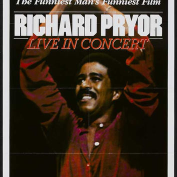 Richard Pryor: Live in Concert 11x17 Movie Poster (1979)