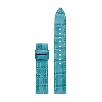 Michael Kors Access MKT9057 18mm Sofie Strap Leather Calfskin Blue Watch Strap