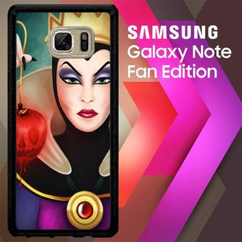 Disney Evil Queen Y0751 Samsung Galaxy Note FE Fan Edition Case