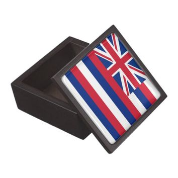 Hawaii State Flag Premium Gift Box