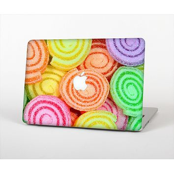 The Colorful Candy Swirls Skin Set for the Apple MacBook Pro 13""