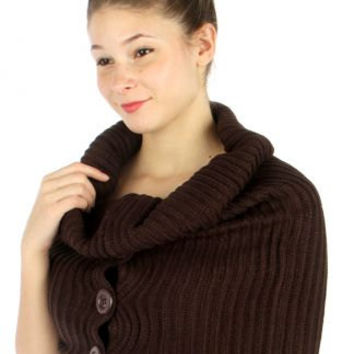 FALL WINTER Scarf S Birthday Xmas Gift Gift Ideas for winter fall Buttoned turtle neck Knit warmer