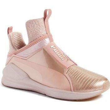 PUMA 'Fierce Metallic' High Top Sneaker (Women) | Nordstrom