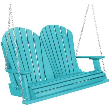 Wildridge Heritage Two Seat 4ft. Recycled Plastic Porch Swing