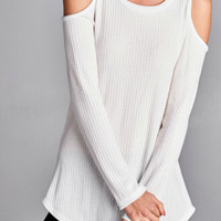 Open shoulder thermal -white
