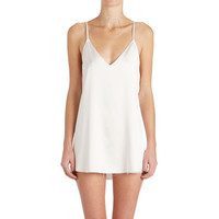Zillah Slip Dress - White